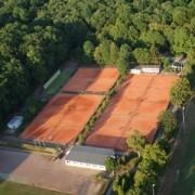 Luftbild Tennisanlage Leipzig Südvorstadt