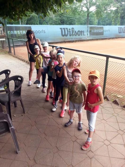 Tennis Miniclub mit Petra Knauft