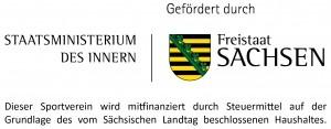 Logo Staastsministerium des innern - Sächsischer Freistaat