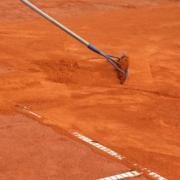 Arbeitseinsatz Tennisplatz